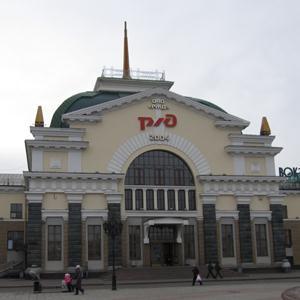 Железнодорожные вокзалы Глазова